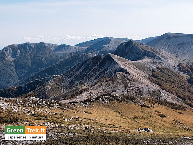 Creste dei Monti Cantari - GreenTrek.it